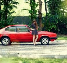 Ретро кортеж Ford Capri 1979