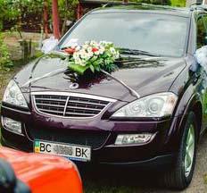 Oренда авто Весільний кортеж