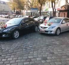 Весільний кортеж Mazda 6