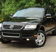 Volkswagen Touareg Black