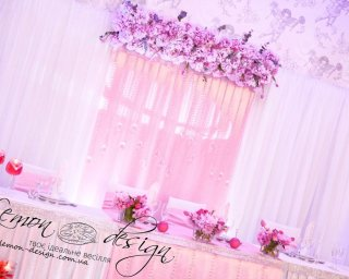 Лимон Дизайн - майстерня весільного декору