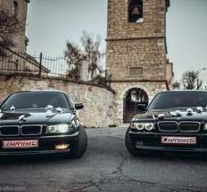 Весільний кортеж BMW