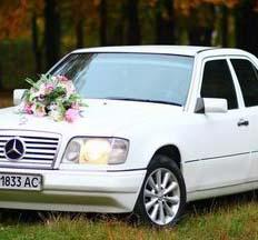Весільний кортеж Mercedes W124