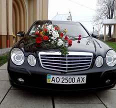 Авто на весілля, весільний кортеж по Закарпатті