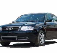 Чорна Audi A6 автокортеж весільне авто