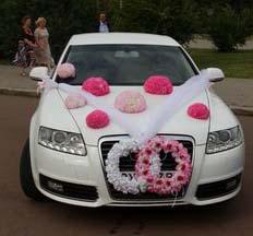 Весільний кортеж Audi A6 Хмельницький