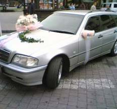 Весільна машина Mersedes C-class w202