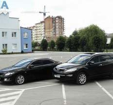 Кортеж-захід. Mazda Mitsubishi