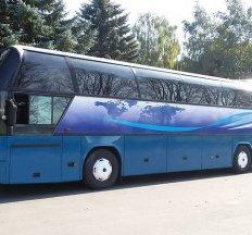 Комфортабельні автобуси 30-55 місць