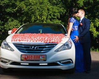 Прокат Оренда Авто,Шикарна Hyundai Sonata,Машина Авто на весілля,Весільний Кортеж Автомобіль Львів