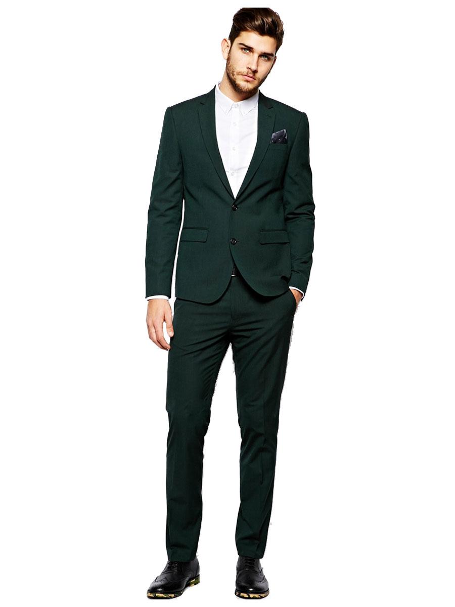 Костюм зеленого кольору може бути альтернативою костюму сірого кольору. У  той час 2120d8d288202
