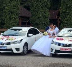 Весільний кортеж автомобілем TOYOTA 2014