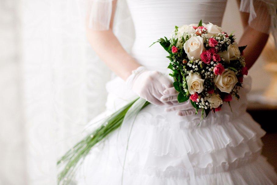 Весільний букет нареченої