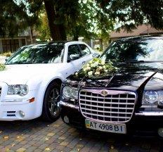 Чорний та Білий CHRYSLER 300С