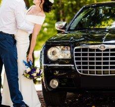 Весільний кортеж Chrysler 300c