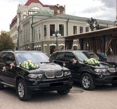 BMW X5 весільний кортеж, прокат авто
