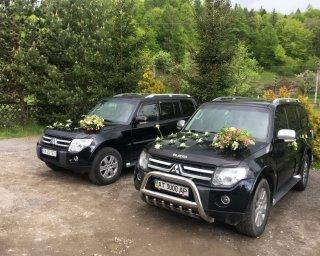 Весільний кортеж Pajero трансфер оренда авто з водієм
