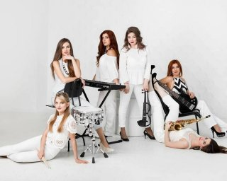 Кавер Гурт ICE CREAM Ladies Band